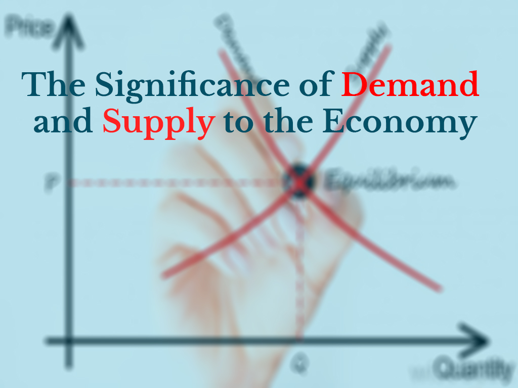 The Significance of Demand and Supply to the Economy