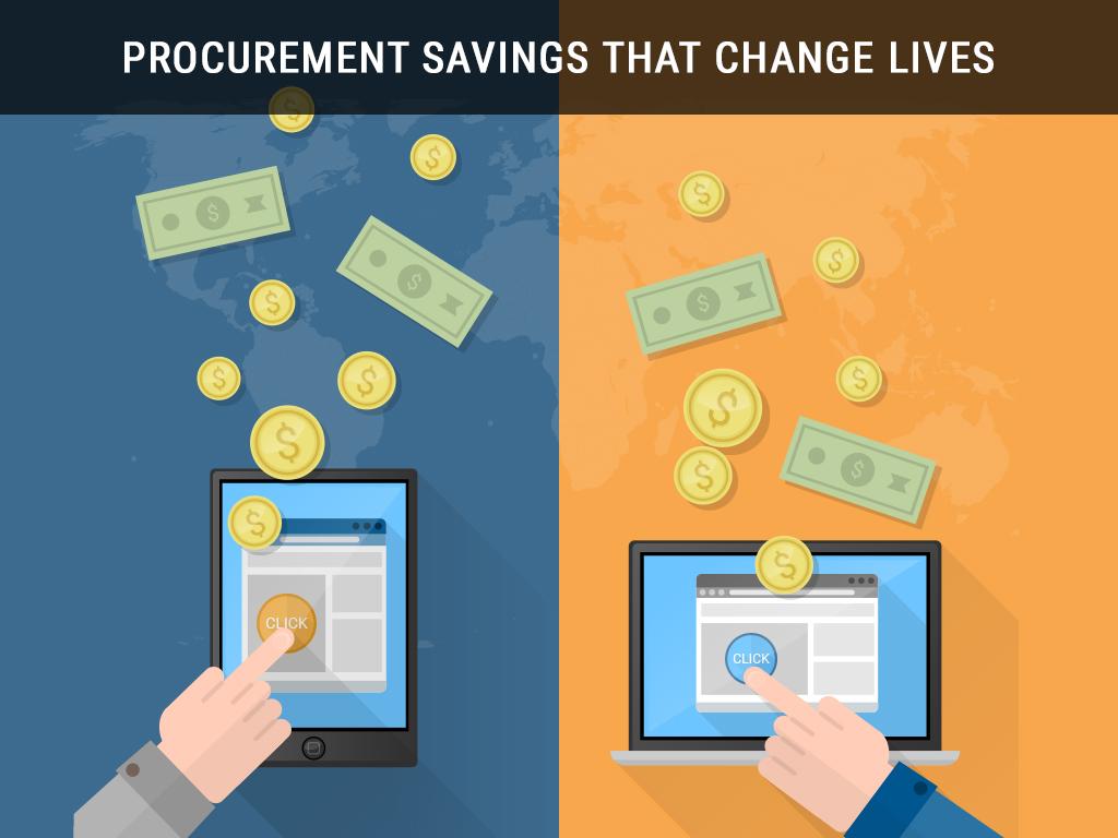 Procurement Savings that Change Lives