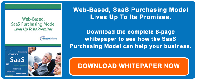 SaaS Purchasing Model Download